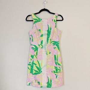 Lilly Pulitzer for Target Flamingo Fan Dance Dress